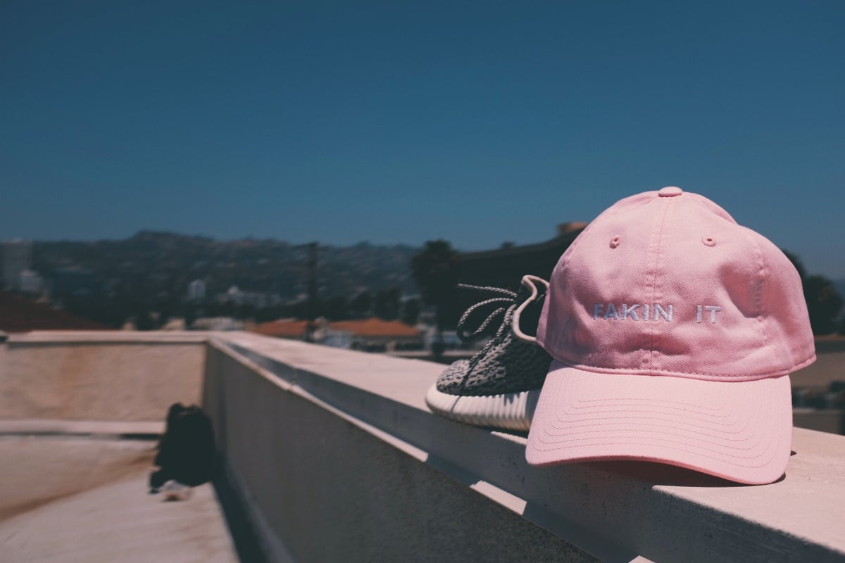 Image of Fakin It Hat - Pink - Limited Print