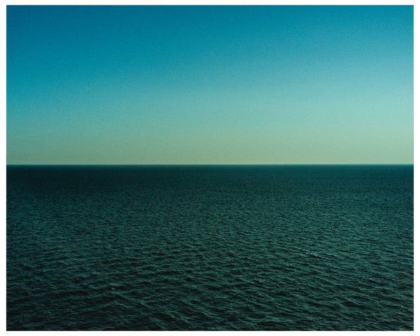 "Image of 8"" x 10"" print (limited edition of 10) The Atlantic Ocean, 2015  + 65 MPH book"