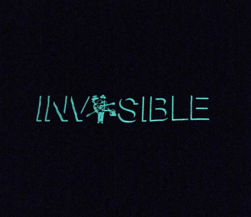 Image of H+TI Glow in the Dark Invisible Tee