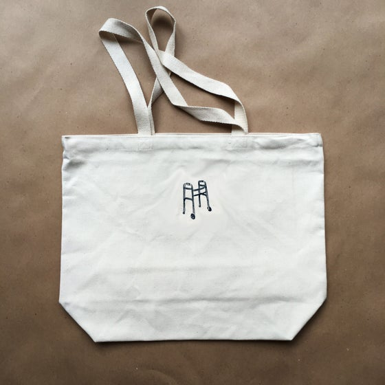 Image of walker tote