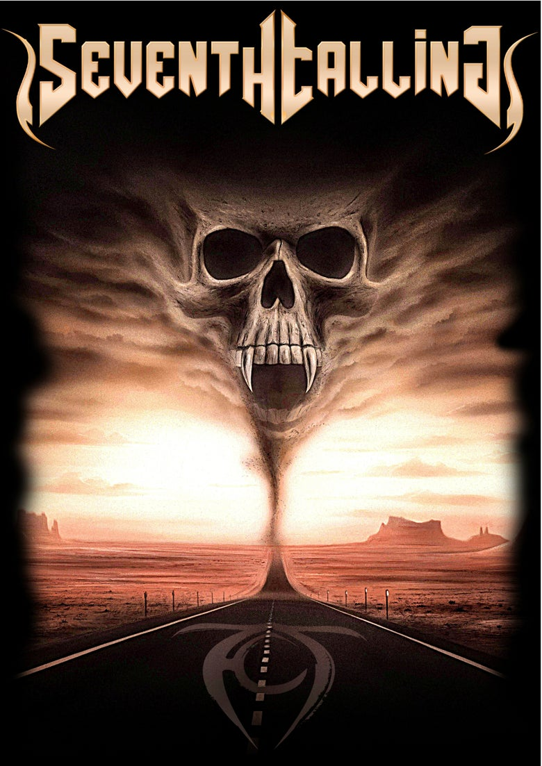 Image of Seventh Calling-Path To Metal Tee