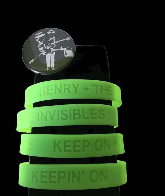 Image of Keep On Keepin' On Glow in the Dark Wristband