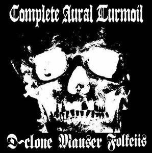 "Image of MAUSER/D-CLONE/FOLKEIIS - complete aural turmoil 7""ep!"