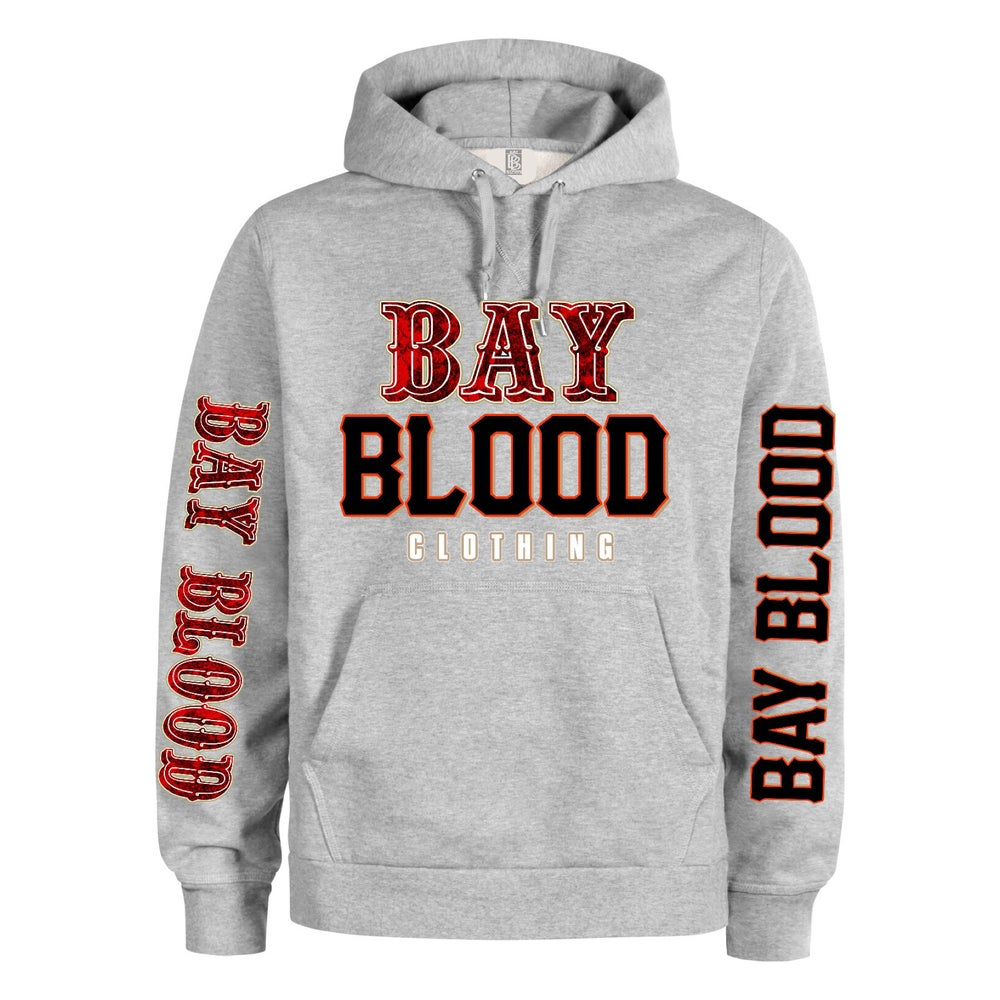 "Image of ""Frisco"" Bay Blood hoodie (grey)"