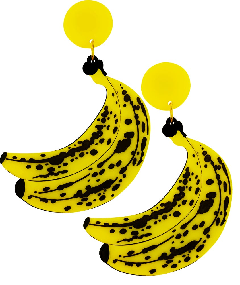 Image of Banana Statement Earrings
