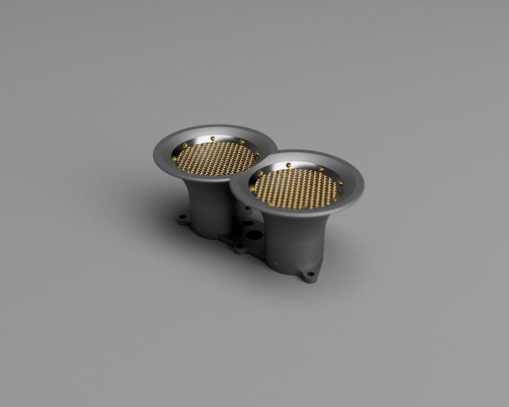 Custom Weber Velocity Stacks