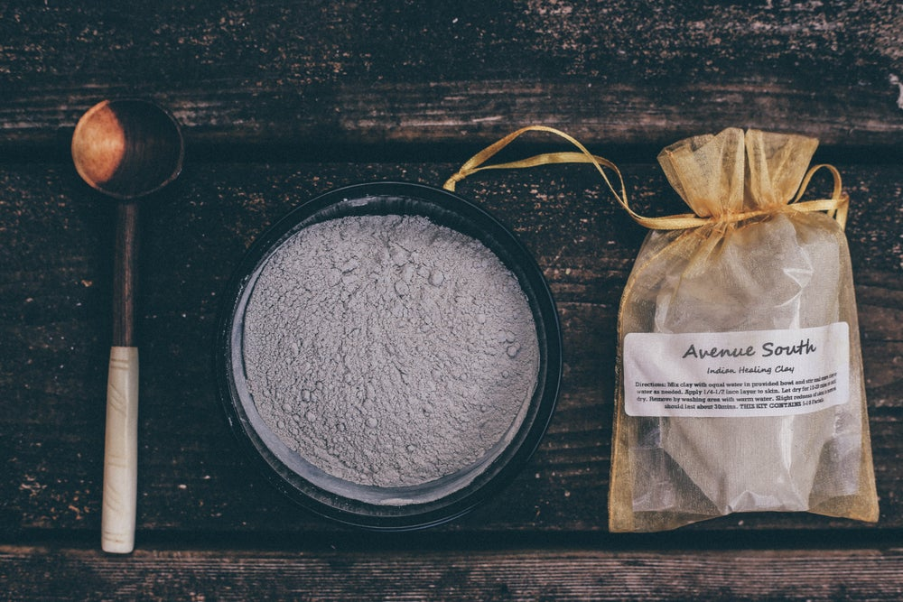 Image of Indian Healing Clay Mask Kit