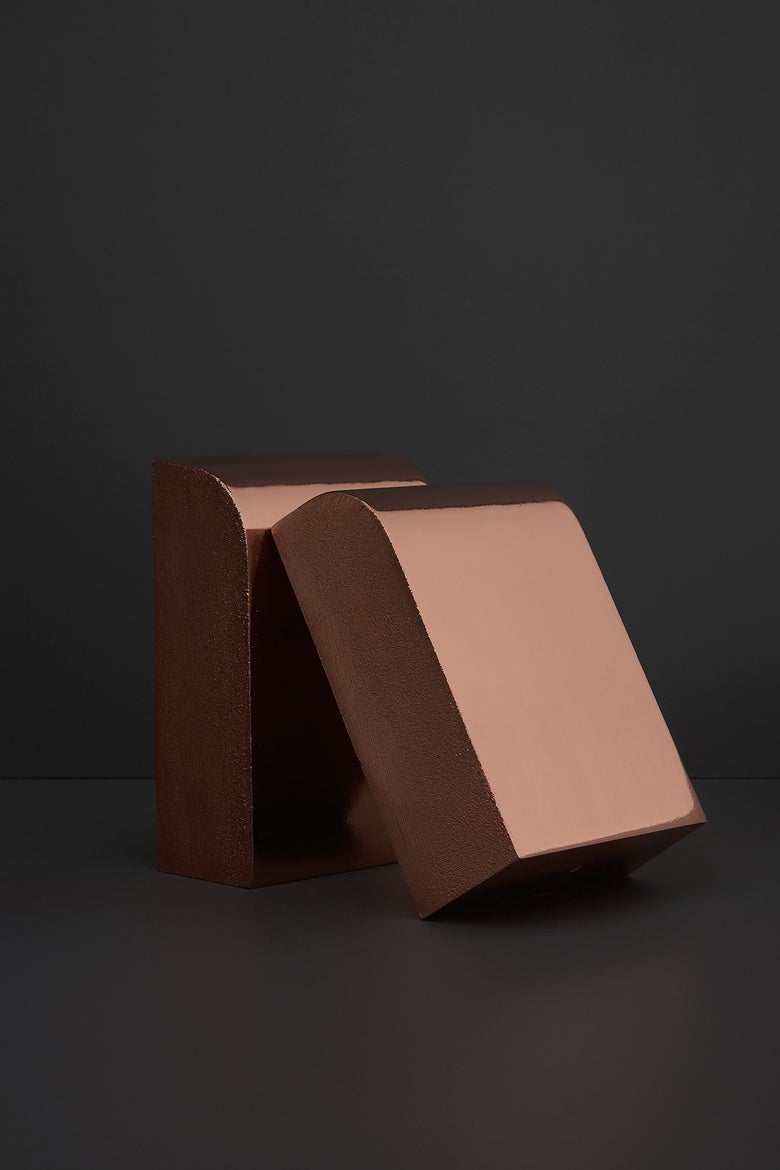 Image of Arc Bookends (Sold as Pair) SAMPLE SALE
