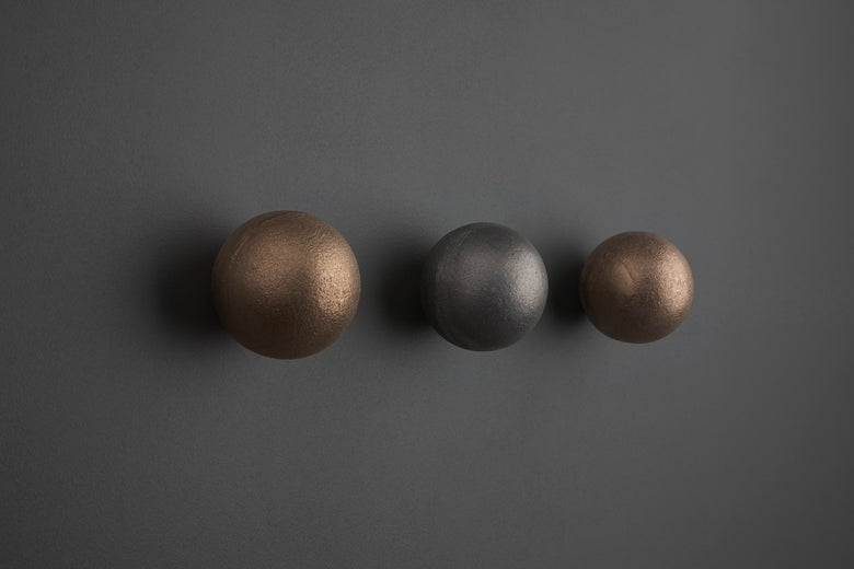 Image of Bronze Orb Wall Hook (SAMPLE SALE)