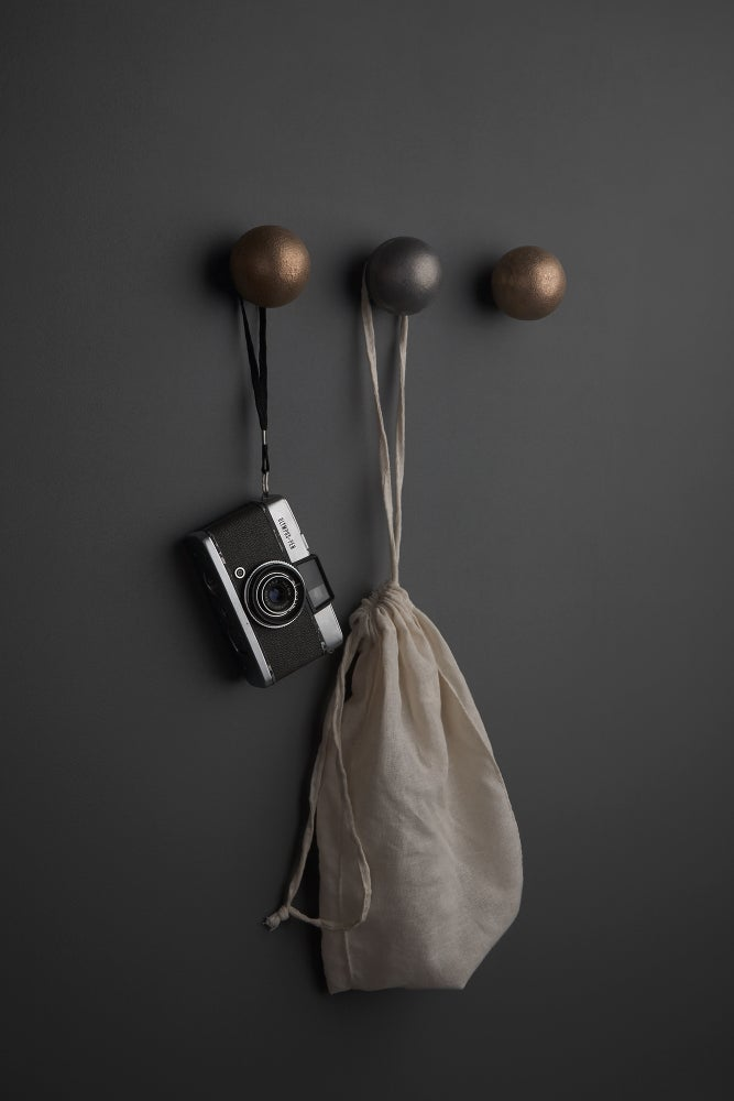 Image of Aluminium Orb Wall Hook (SAMPLE SALE)