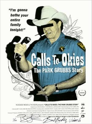 Image of CALLS TO OKIES silkscreen print