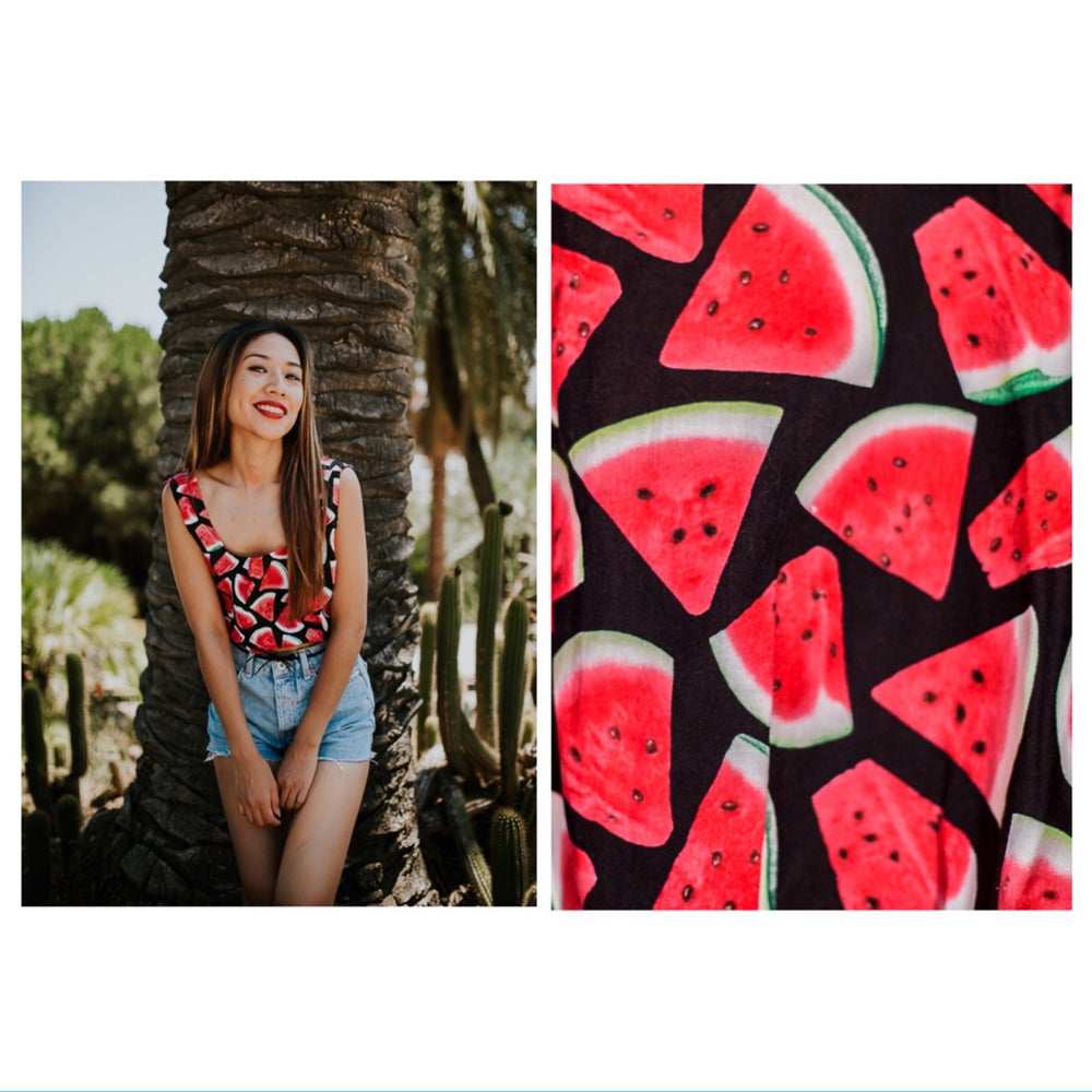 "Image of Seleccion n.2 ""CropTop Watermelon I"""