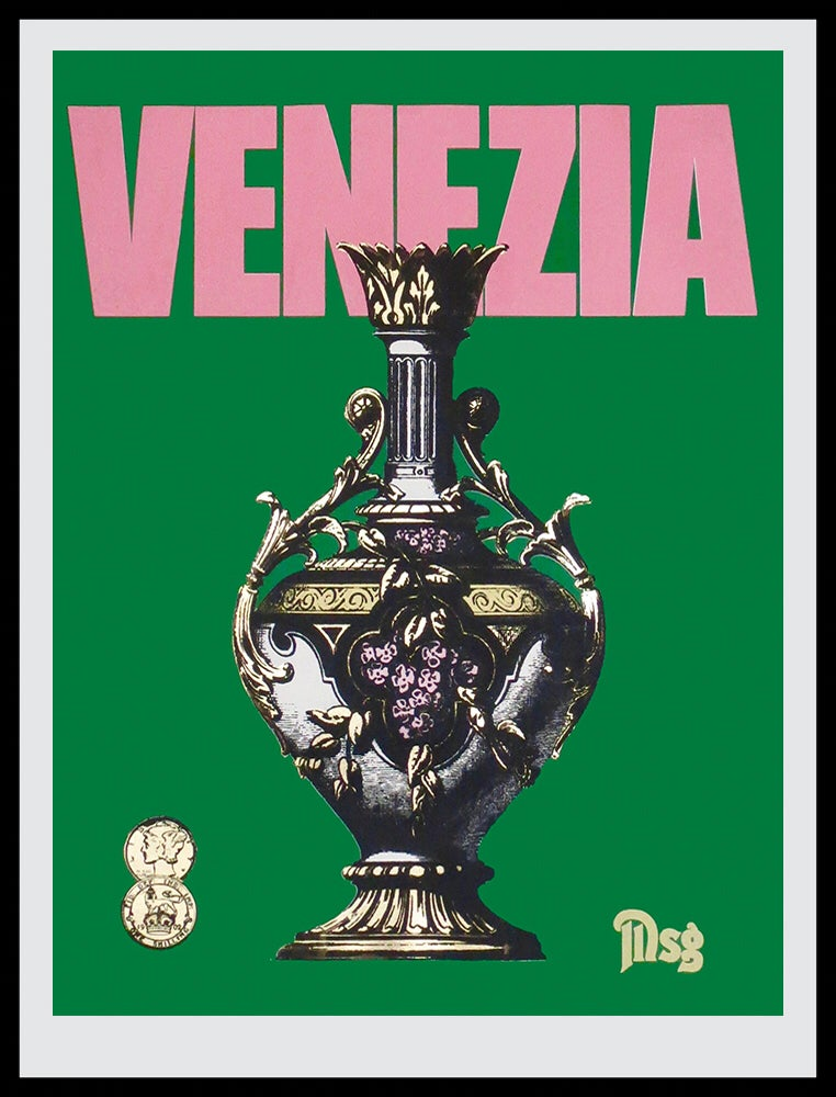Image of Venezia Green/Pink