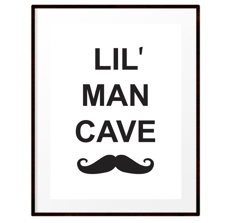 Image of Lil' Man Cave print