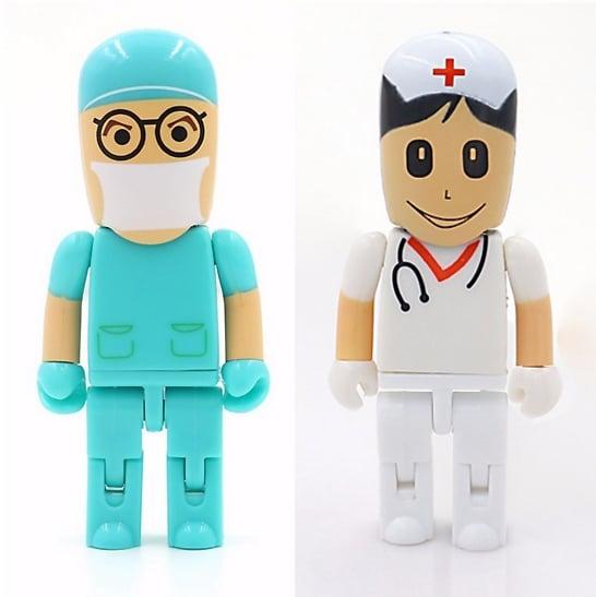 Image of 64GB Doctor Nurse USB 2.0 Flash Memory Pen Drive Stick