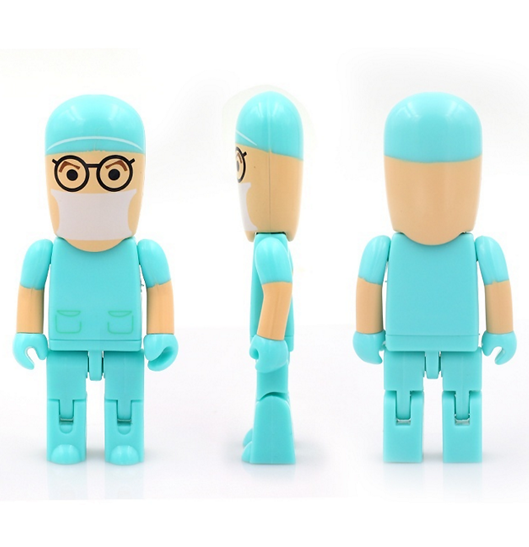 Image of 64GB Doctor Nurse USB 2.0 Flash Memory Pen Drive Stick