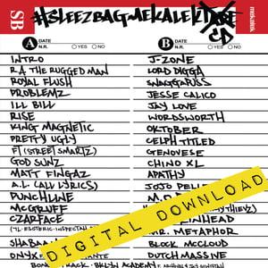 Image of [Digital Download] Sam The Sleezbag + DJ Mekalek - #SleezbagMekalekTape - DGZ-040