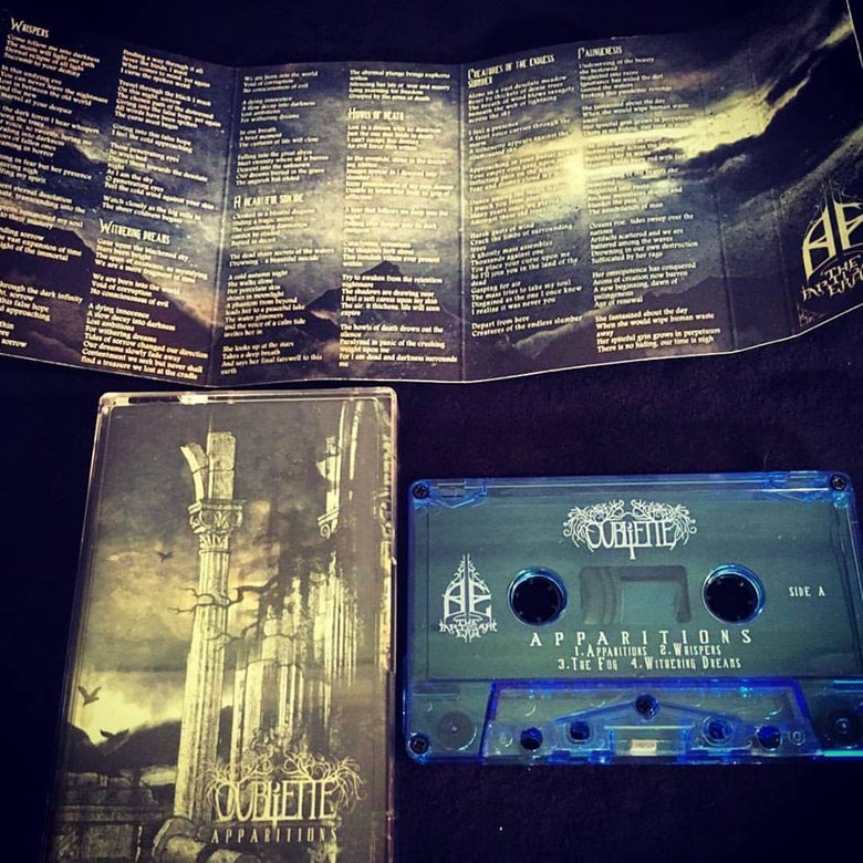Image of OUBLIETTE - Apparitions - Cassette