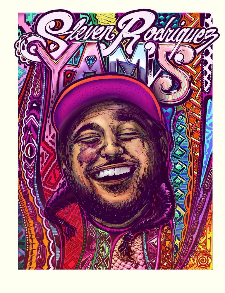 Image of Yams Print