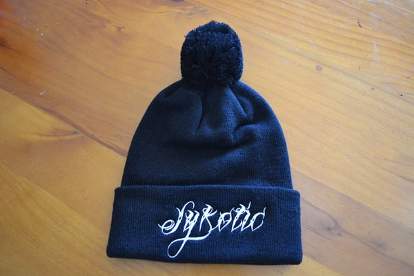Image of Pom Pom Beanie (Black)
