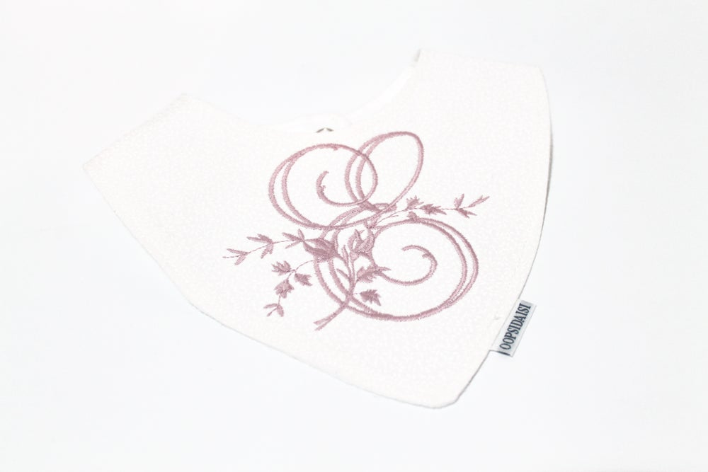 Image of Vintage Monogram Bib