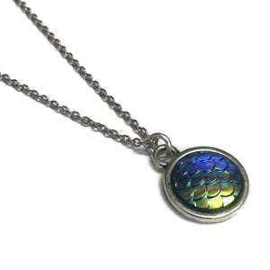 Image of Dragon / Mermaid Scales Necklace