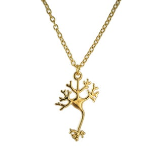 Image of Neuron Brain Cell Necklace - Options Available