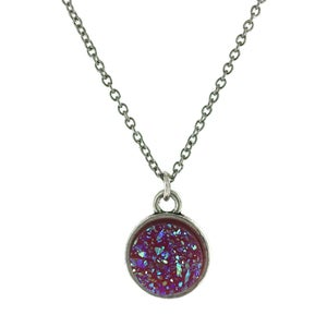 Image of Faux Druzy Necklaces - Options Available