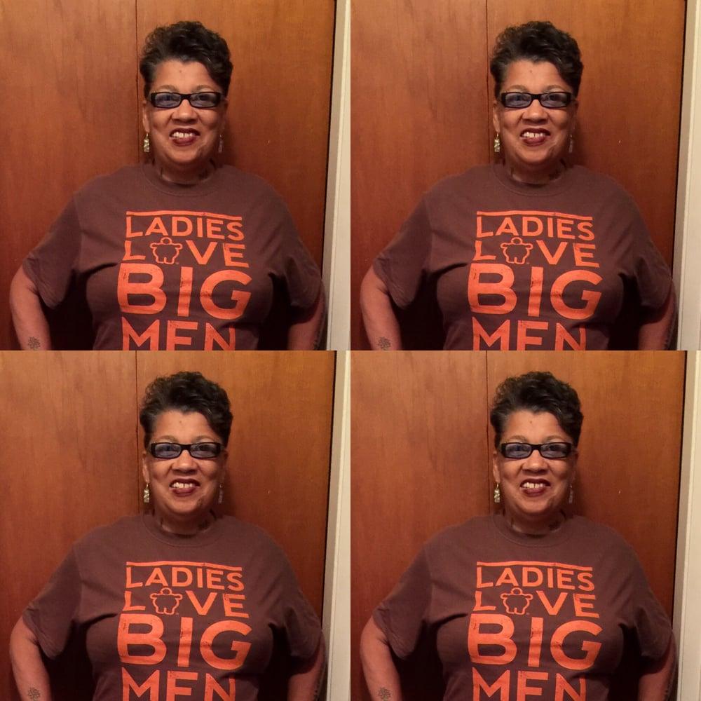 Image of LADIES LOVE BIG MEN BROWN/ORANGE