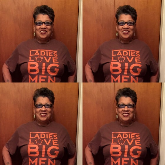 Image of LADIES LOVE BIG MEN BROWN/ORANGE