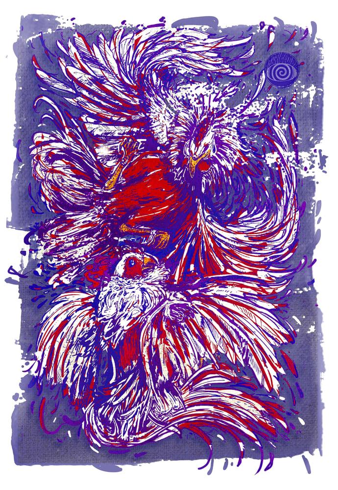 Image of Gallos Print