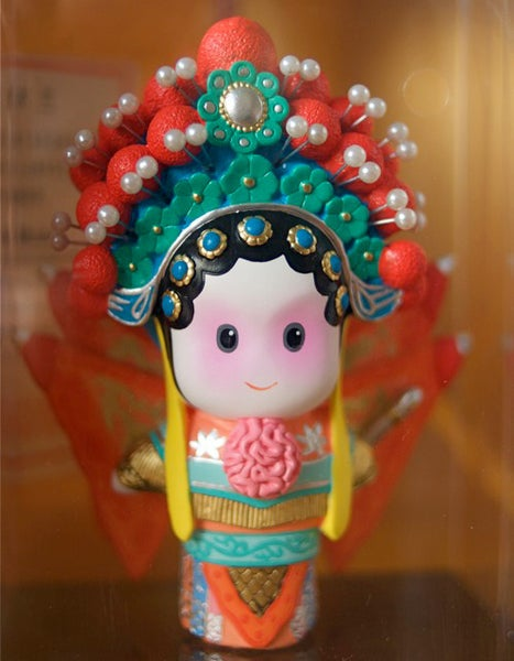 "Image of Chinese Peking Opera Series - Mulan 5"" figure"