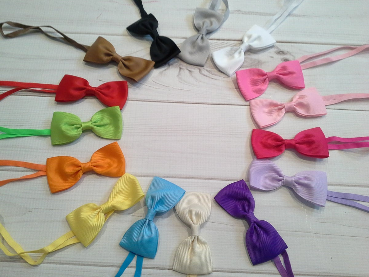 Chubby cheek boutique bows