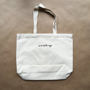 Image of sticks tote