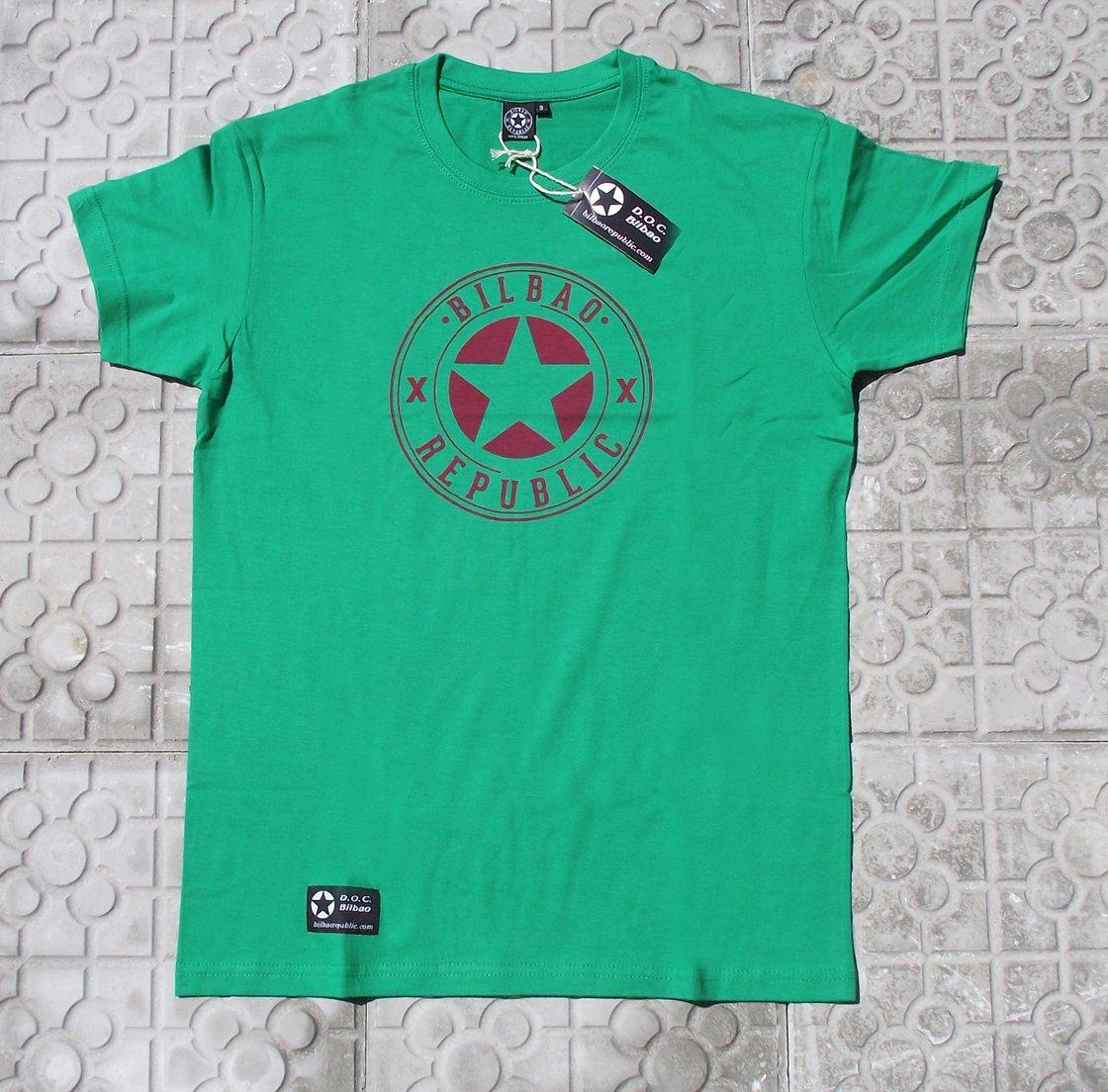 Image of Camiseta unisex Verde Pagasarri
