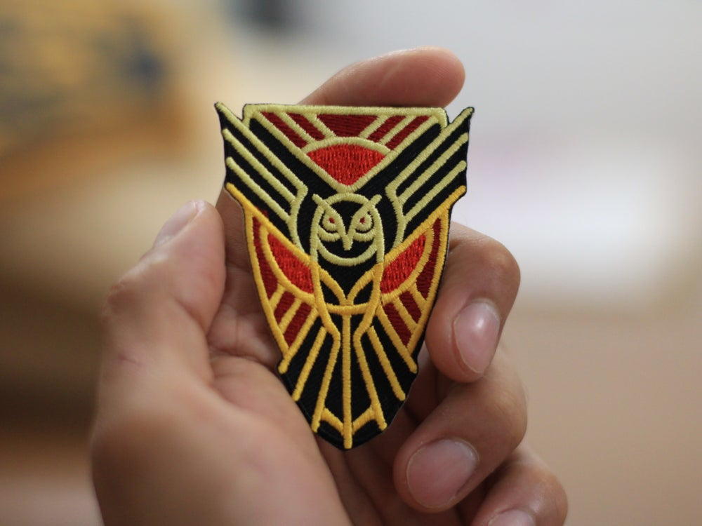 Image of Headbadge Owl Patch
