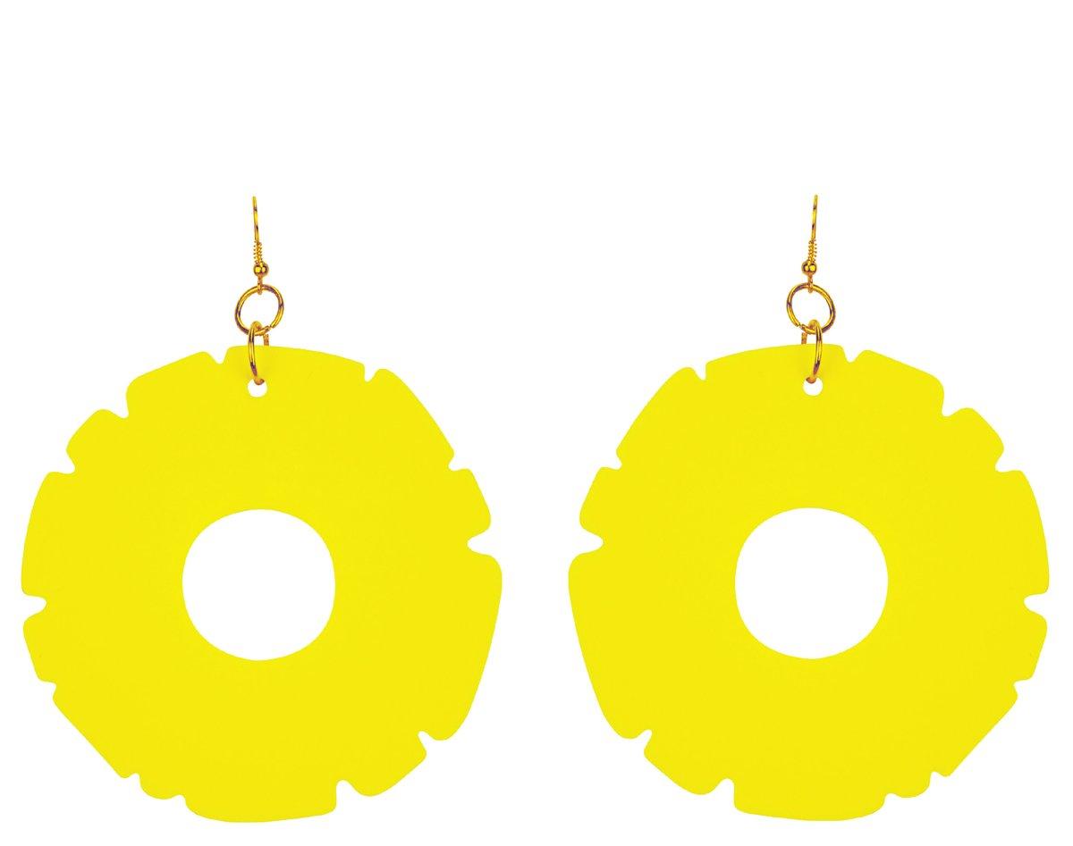 Image of Pineapple Ring Earrings