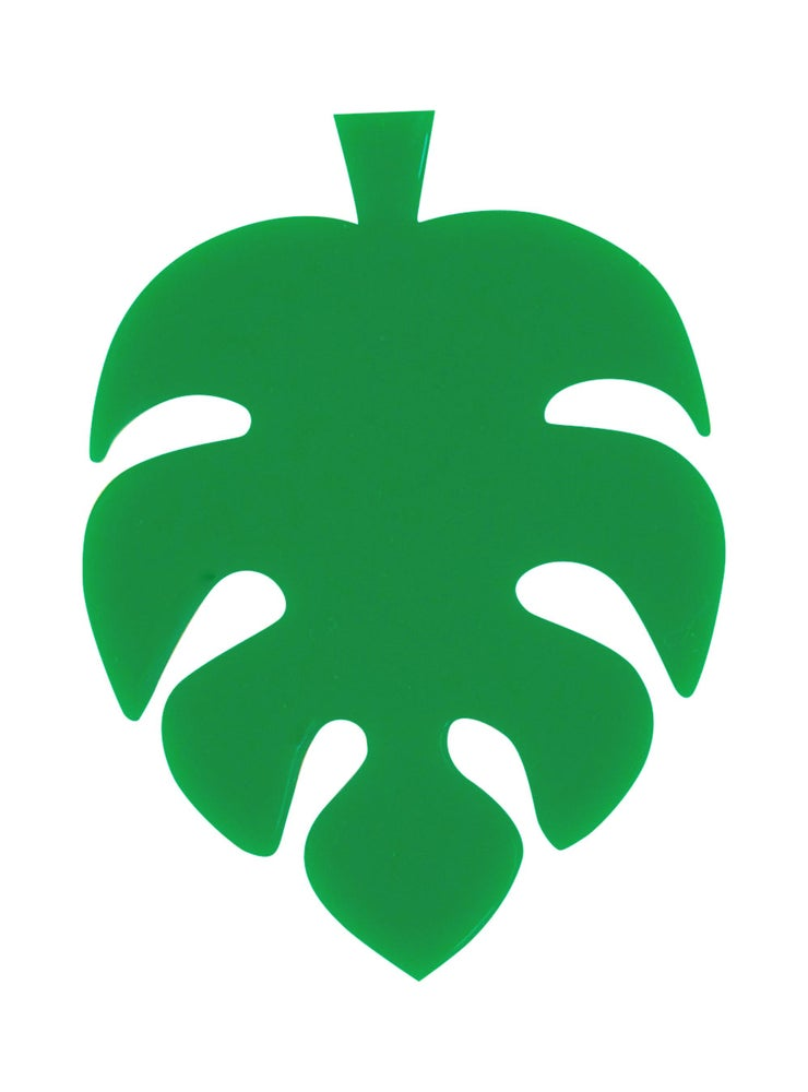 Image of Monstera Swiss Cheese Plant Brooch