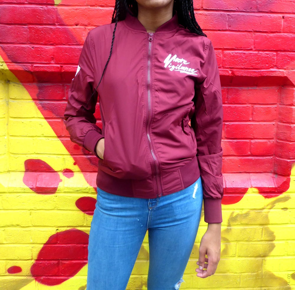 Image of Womens Lightweight Bomber Jacket