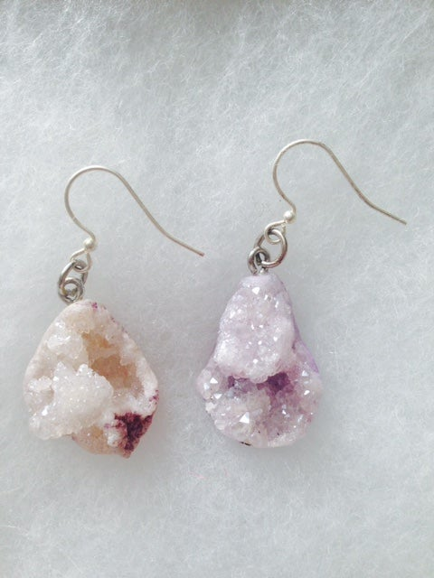 Image of Amethyst Druzy Style Raw Natural Stone