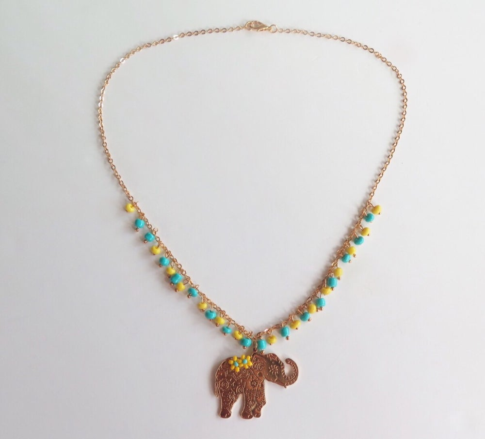 Image of Ava Elephant Necklace