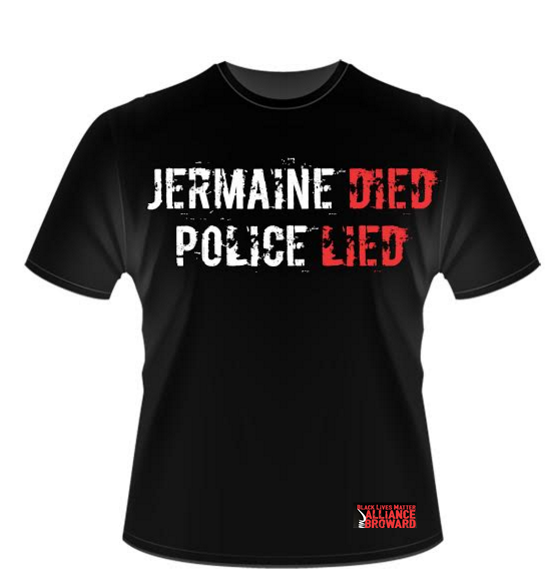Image of Jermaine Died Police Lied