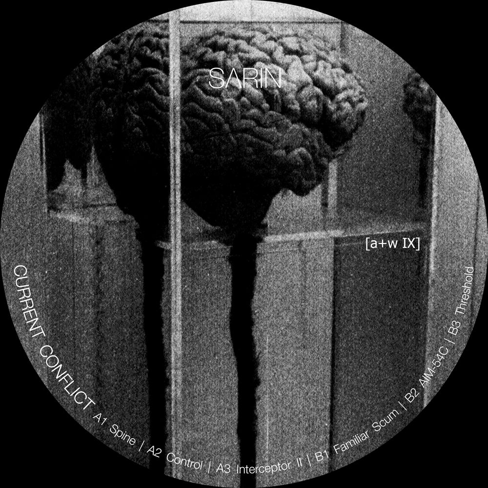 Image of [a+w IX]  SΛRIN - Current Conflict 12""