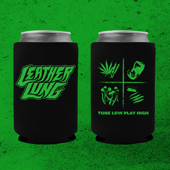 Image of Tune Low • Play High Koozie