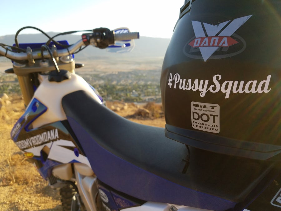 Image of #PussySquad Sticker
