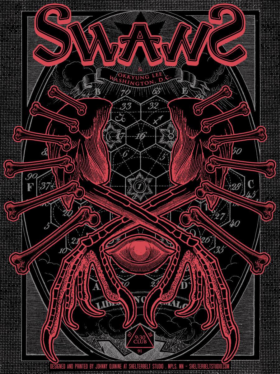 Image of Swans - July 28, 2016 / Washington, DC