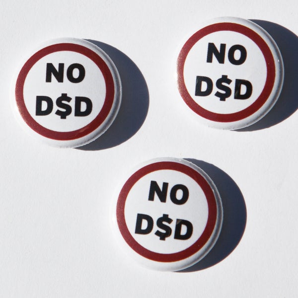 Image of No D$D badges (3)