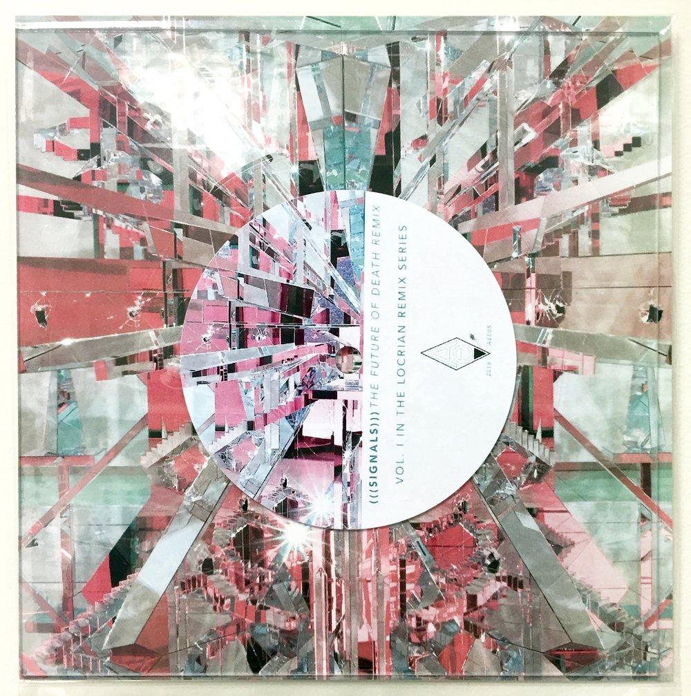 """Image of LOCRIAN REMIX SERIES VOL. 1 / (((signals))) 7"""" square lathe"""