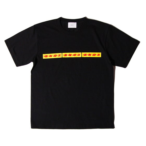 Image of BNDX BOX LOGO TEE BLACK
