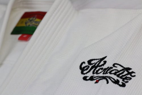 "Image of AGGRO Brand ""Acredite"" Gi"